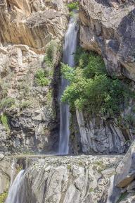 Yet another massive waterfall on Karakoram Higahway,