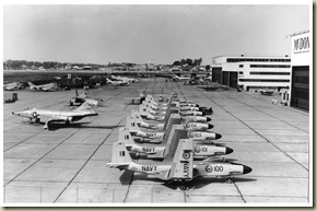 McDonnell Ramp - RF-101s, F3H-2s, RCN F2H-3s-3Small