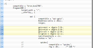Bitbanging SPI on the Raspberry Pi (via spi-gpio)