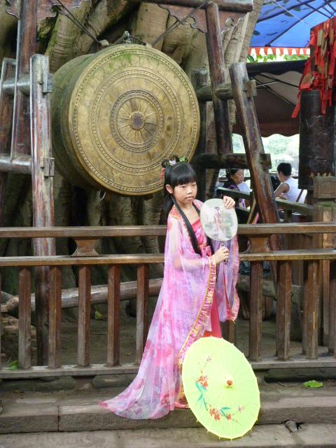 CHINE.SICHUAN.PING LE à 2 heures de Chengdu. Ravissant .Vallée des bambous - P1070516.JPG