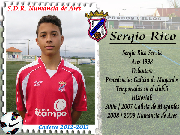 ADR Numancia de Ares. Sergio Rico.