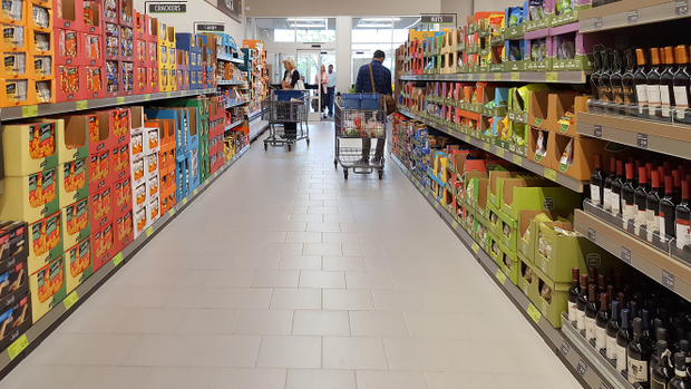 photo of an aisle in the store