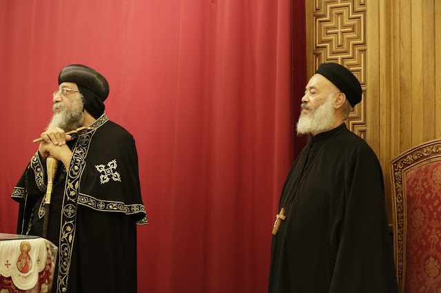 His Holiness Pope Tawadros II visit to St. Mark LA - _09A9092.JPG