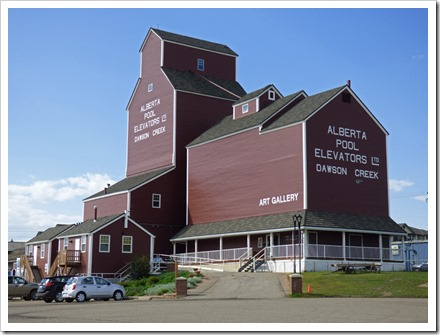 The Grain Elevator / Art Gallery, Dawson Creek, B.C.
