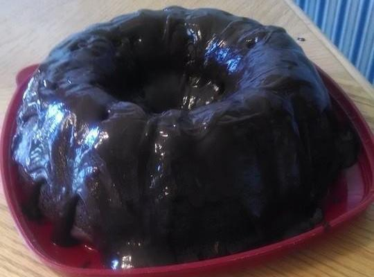 Chocolate Fudge Bundt Cake With An Oreo Surprise Recipe