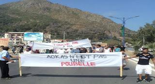 Pour la préservation de la bande boisée du littoral de Béjaïa: Marche de protestation à Aokas