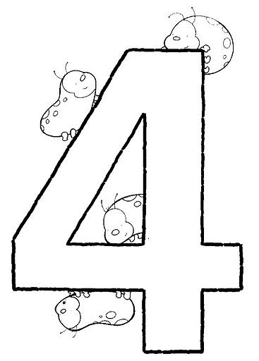 NUMEROS DEL 1 AL 10 FICHAS PARA PINTAR