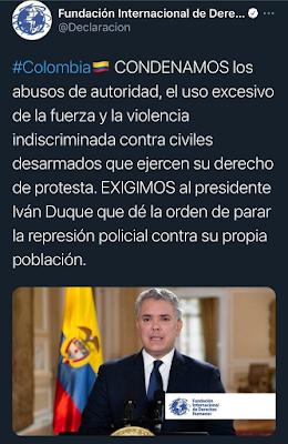 Tweet Derechos Humanos