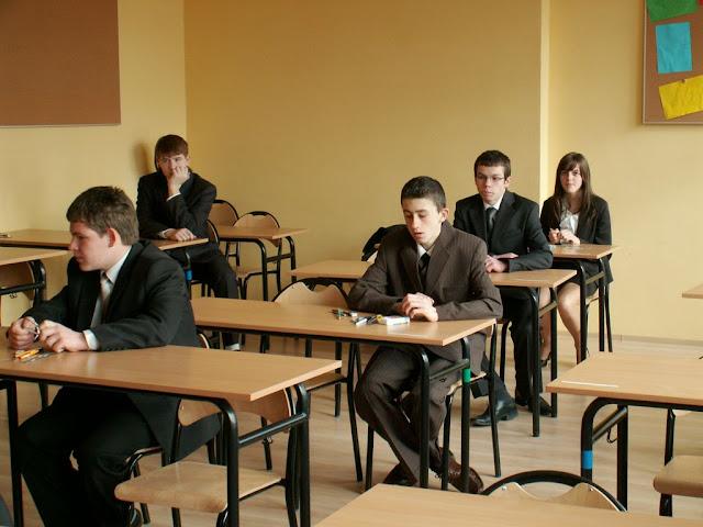 Pierwszy egzamin gimnazjalny w ZS nr 2 w Dukli 2011 - PICT1349_1.JPG