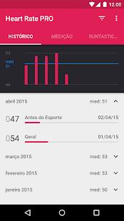 Runtastic Heart Rate PRO Pulso screenshot