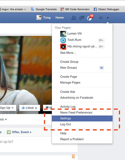 Cách chặn tin nhắn quảng cáo phiền phức trên Facebook