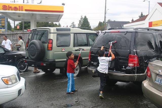 Tibetan Sunday School: Car Wash Fundraiser - IMG_4367.JPG