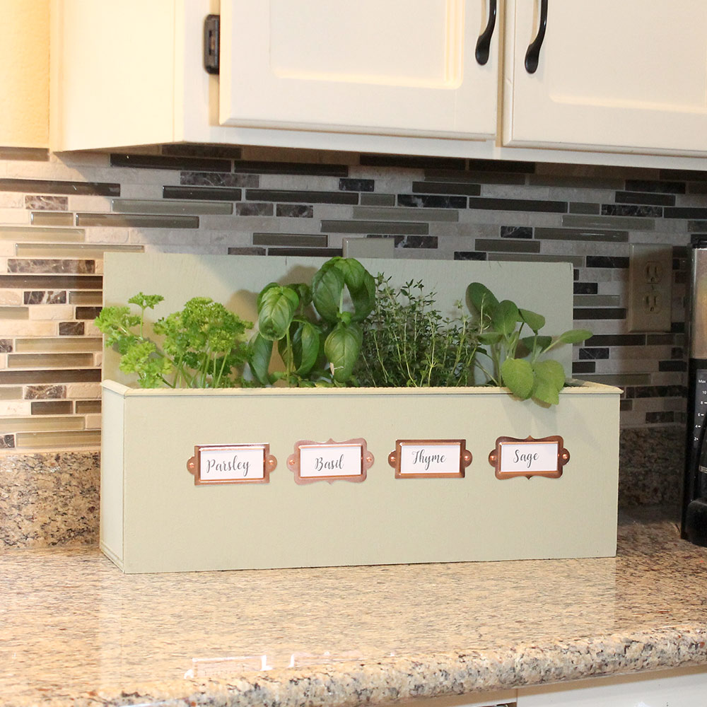 Kitchen Herb Garden Tabletop Or Wall Mounted The Kim Six Fix