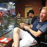 exercising my prawn fishing skills in Taipei in Taipei, T'ai-pei county, Taiwan