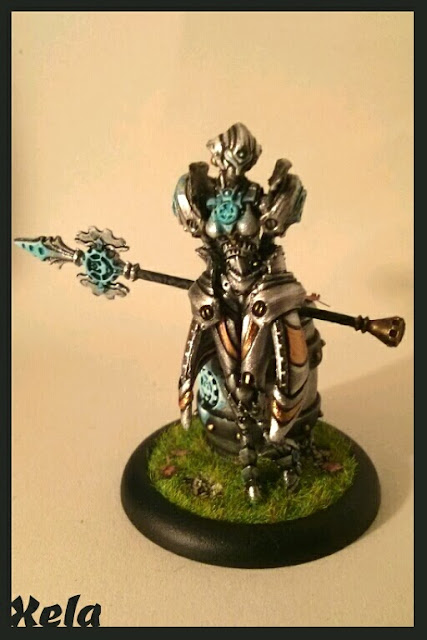Los Grumpies pintamos: STEELSOUL Protector, Solo de Convergence of Cyriss