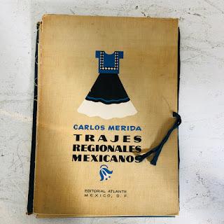 """Carlos Merida Signed """"Trajes Regionales Mexicanos"""" 25 Lithograph Portfolio"""