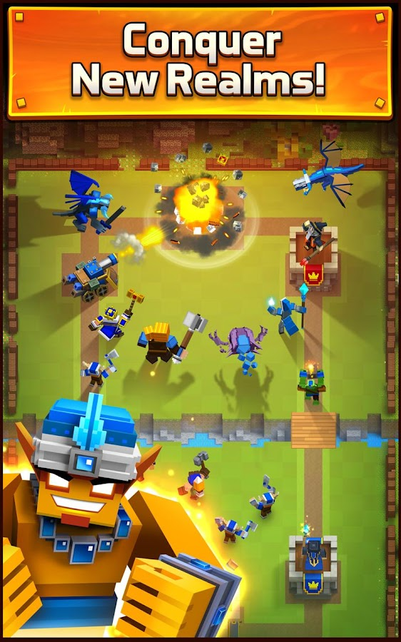 Royale Clans – Clash of Wars- screenshot