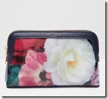 Ted Baker Floral Gardens Small Makeup Pouch