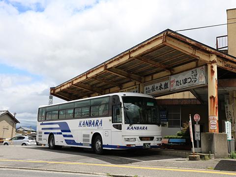 蒲原鉄道「高速 新潟~五泉村松線」 村松駅前にて