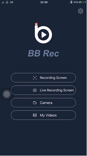 Phần mềm BBREC quay video màn hình và phát trực tiếp lên facebook