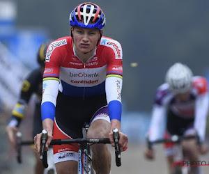 Mathieu van der Poel lijkt maar niet genoeg te krijgen van het mountainbiken...