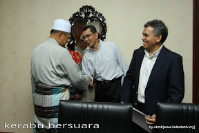 MB Kelantan Menerima Kunjungan Hormat Dato Syed Zainal