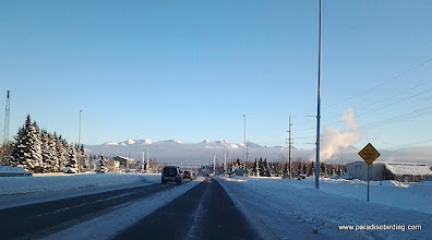 Photo: Leaving the Anchorage airport