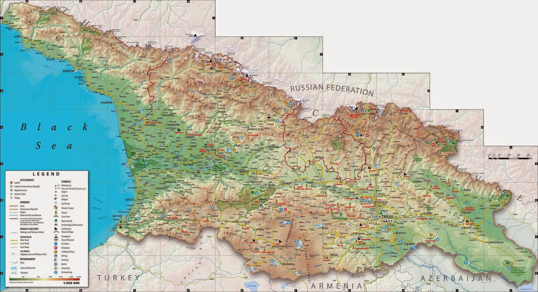 Карты Грузии