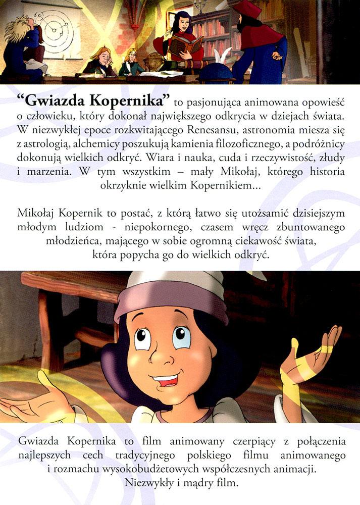 Ulotka filmu 'Gwiazda Kopernika (tył)'