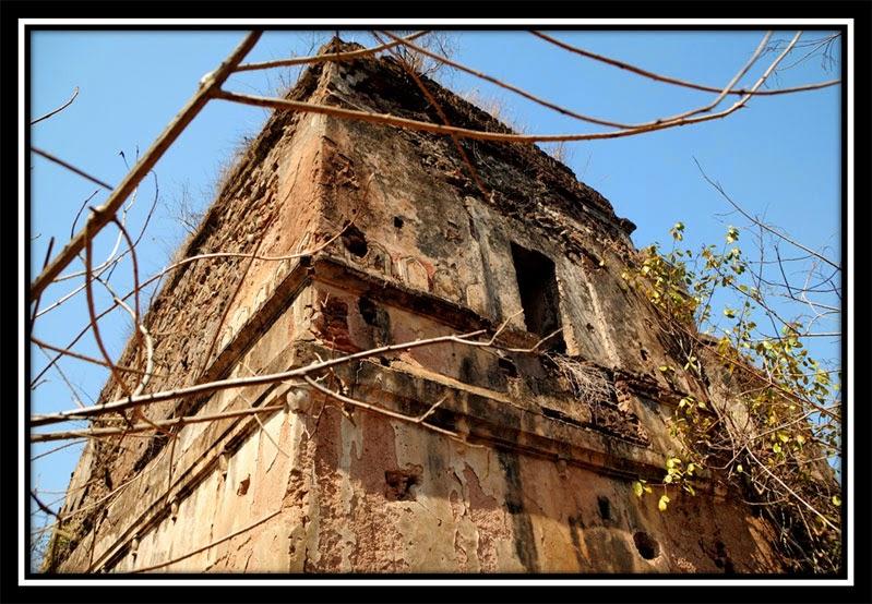 Palace inside - New Palamu Fort