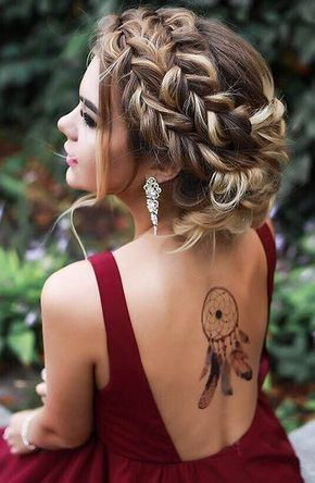 Braid for Short Hair :Style French Style Newest Ideas 2017 14