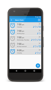 Alarm Clock Widget (No Ads) - náhled