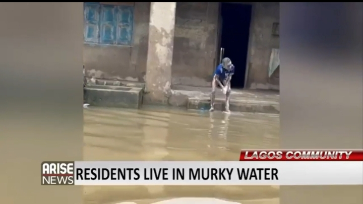 Itolowo: Lagos Community Where People Live In Murky Water (Pictures & Video)