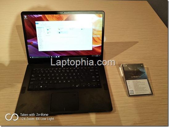 Asus Zenbook Pro UX550 Review