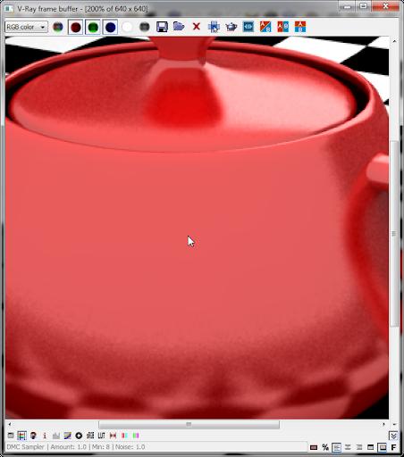 คีย์ลัดใน V-Ray Frame buffer Framebuffsc01