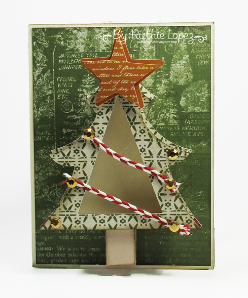 Christmas Tree treat cup - The Cutting Cafe - Ruthie Lopez _ My Hobby My Art