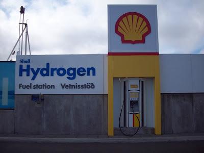 Stacja tankowania wodorem marki Shell