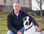 March/April 2011 issue - Pet of the Month Auggie with owner Conan O'Neil by Janet Mlinar