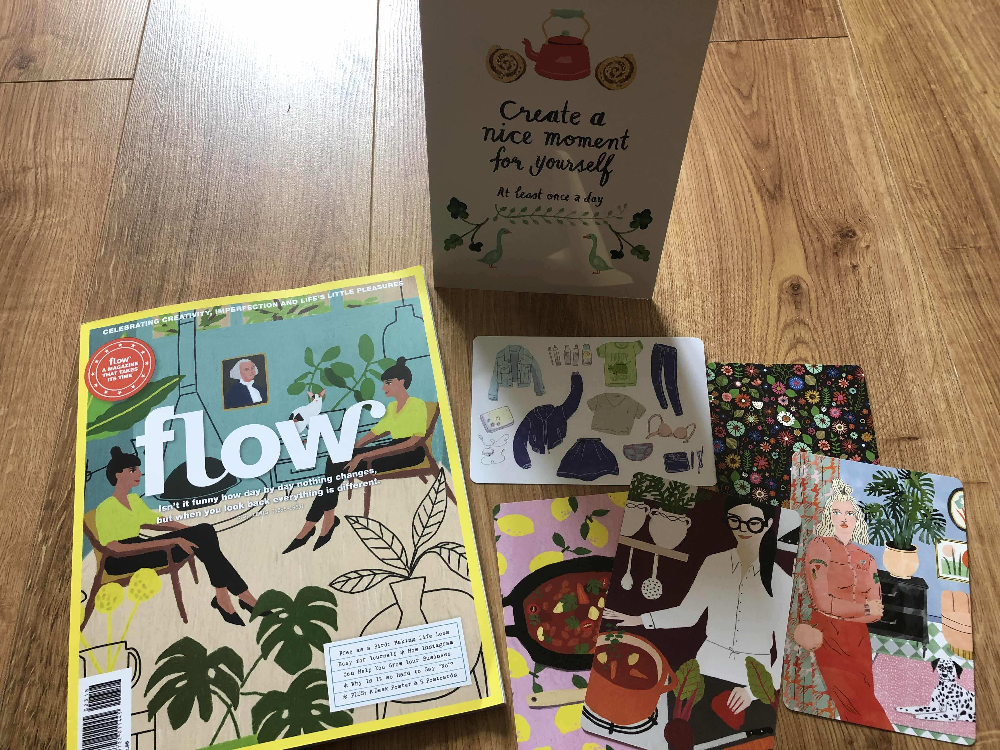 Edels book beauty life blog flow magazine each issue comes with goodies it could be anything postcards bookmarks posters notecards stickers you get the idea basically it had solutioingenieria Images
