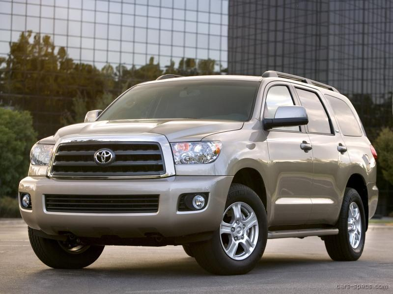 2010 toyota sequoia suv specifications pictures prices. Black Bedroom Furniture Sets. Home Design Ideas