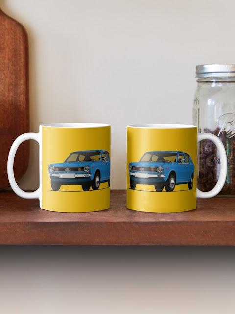 Datsun 100A / Cherry 2 image mugs