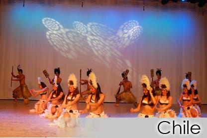 Danças do Mundo 2014 - Chile