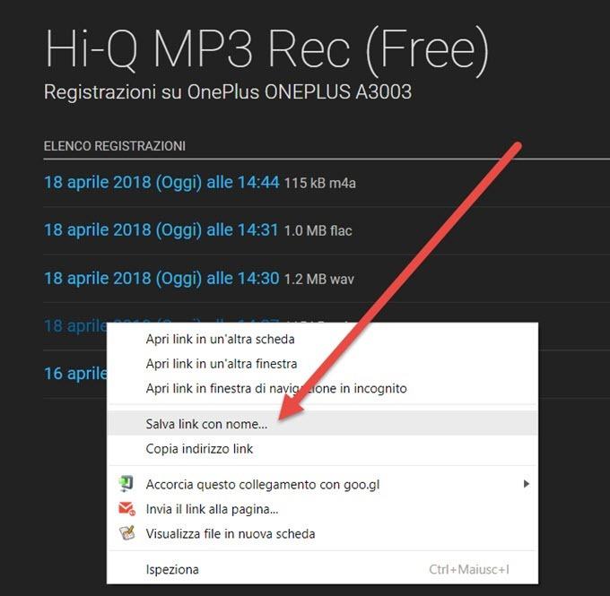 elenco-registrazioni