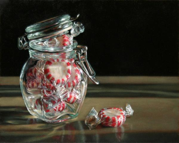 """A Breath of Fresh Air"" Oil by artist Lisa Ober."