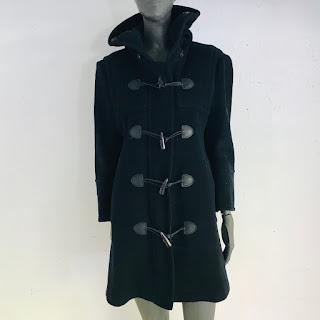 Burberry London Hooded Toggle Coat
