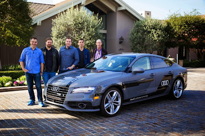 Audi A7 Piloted Driving Concept Drives Silicon Valley to Las Vegas Drive 31