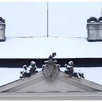 Vizovice: Zámek v Zimě, Foto: Janynka, http://priroda-jjanynka.blog.cz