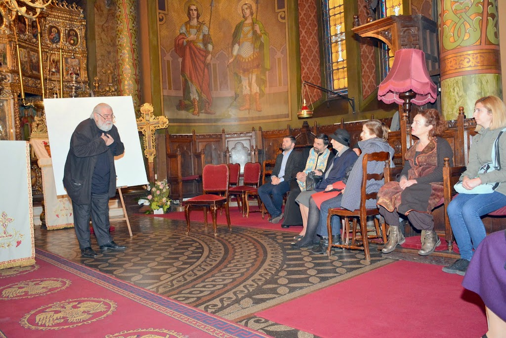 Sorin Dumitrescu la Sf. Silvestru despre Inviere 031
