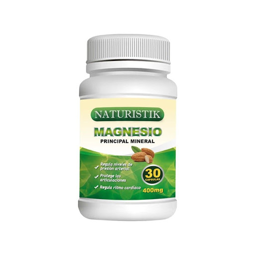 magnesio 400mg 30capsulas linoflax Naturistik