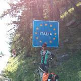 Riding Thro' Italy